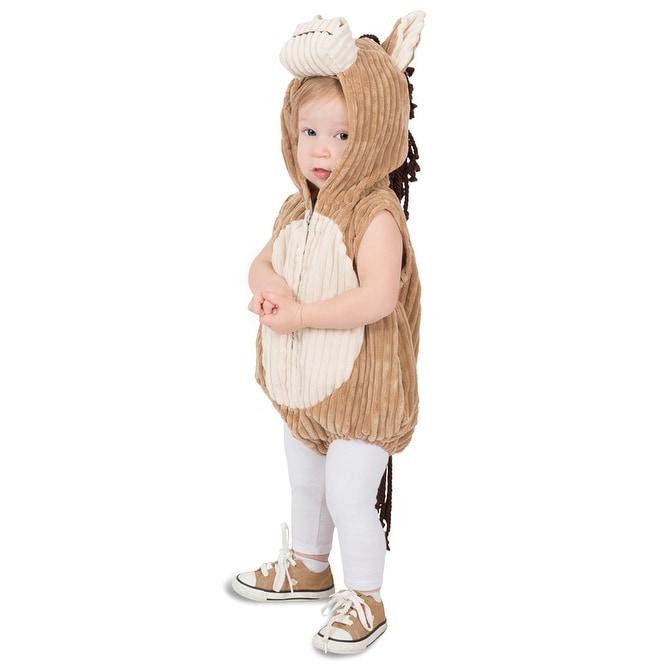 Deluxe Soft Corduroy Horse Child Halloween Costume