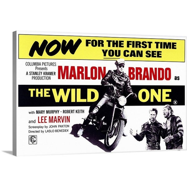 """The Wild One (1953)"" Canvas Wall Art"