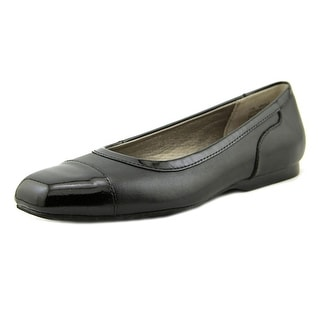 Array Madison N/S Square Toe Leather Flats