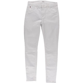 Hudson Womens Lilly Ankle Jeans Twill Mid-Rise