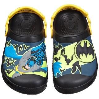 Crocs Batman Custom Clog Kids Boys Shoes Footwear - Black - 4-5 m us toddler