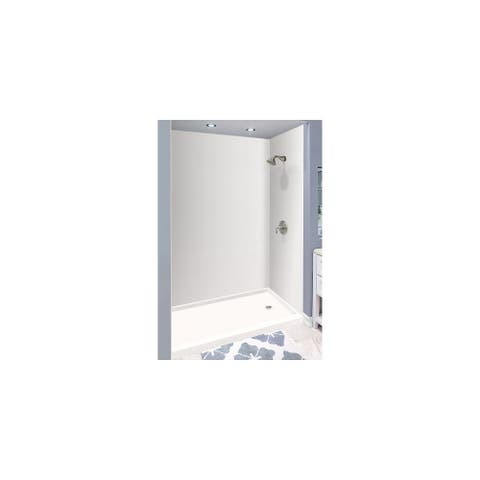 "Transolid Expressions 36-in X 60-in X 96-in Glue to Wall Shower Walls - 60"" x 36"" x 96"""