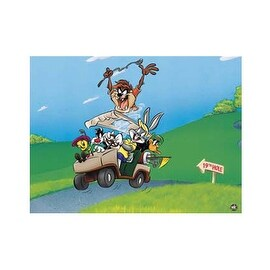 ''To the 19th Hole'' by Looney Tunes Sports/Games Art Print (15.75 x 19.75 in.)