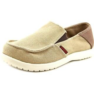 Crocs Santa Cruz Round Toe Canvas Loafer