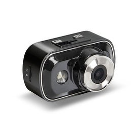 Pilot Automotive Black 2-in-1 1080P HD Sports Action Dash Camera with 8GB SD Card