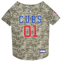 MLB Chicago Cubs Camo Jersey