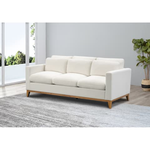 Abbyson Rosetta Modern Fabric Sofa