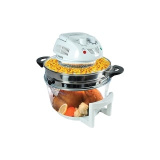 Nutrichef azpkairfr48 halogen oven air-fryer/infrared convection cooker