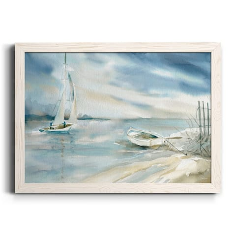 Subtle Sail-Premium Framed Canvas - Ready to Hang