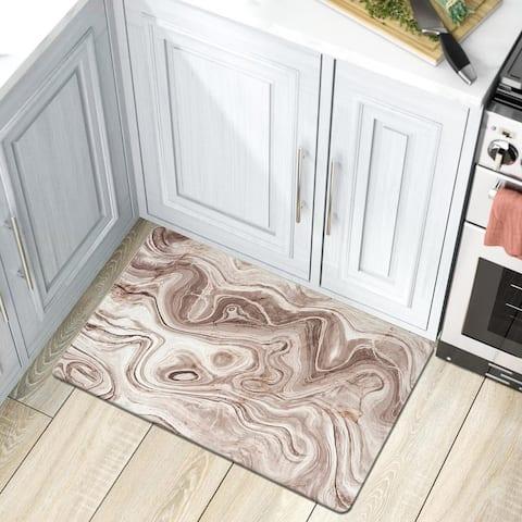 Marble Design Anti Fatigue Standing Mat
