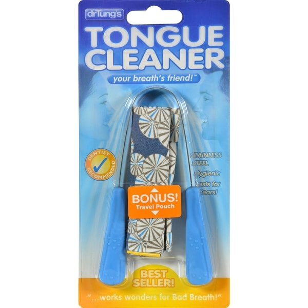 Dr. Tungs Stainless Steel Tongue Cleaner - 1 Tongue Cleaner - Case of 12