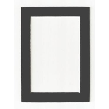 Shop Charcoal - Dark Gray Acid Free Picture Frame Mat, 8x10 - Free ...
