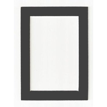 Charcoal - Dark Gray Acid Free Picture Frame Mat, 8x10 - Ships To ...