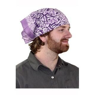 Handmade Cotton Grateful Dead Dancing Bear Mandala Bandana Scarf Headscarf 22x22