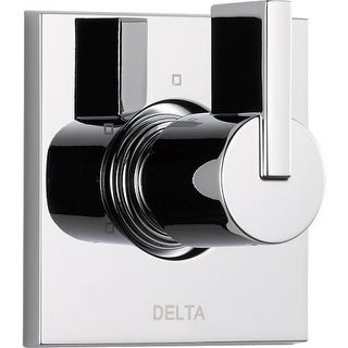 Delta T11853 Vero Three Function Diverter Valve Trim - Two Independent Positions, One Shared Position - Less Rough-In Valve
