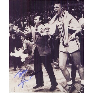 Signed Heinsohn Tommy Boston Celtics 8x10 Photo autographed