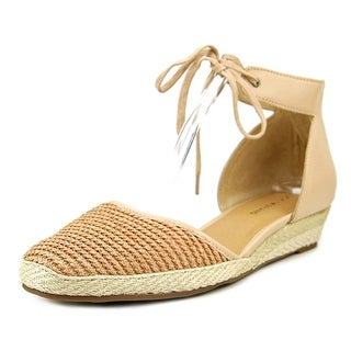 Lucky Brand Talianna Women Round Toe Synthetic Tan Espadrille