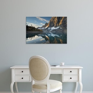 Easy Art Prints Alan Majchrowicz's 'Floe Lake Reflection III' Premium Canvas Art