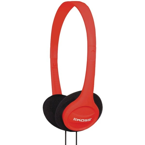 Koss 184987 Kph7 On-Ear Headphones (Red)