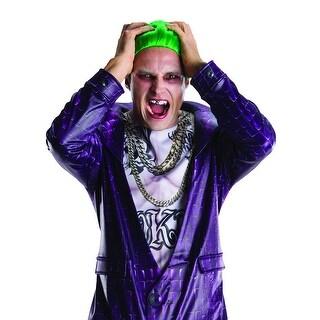 Suicide Squad Joker Costume Teeth Adult One Size