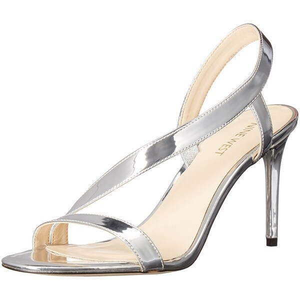 Nine West Womens Rhyan Open Toe Casual Slingback Sandals