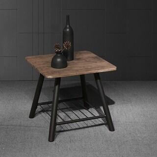 Carbon Loft Proctor Modern Rustic Coffee Table