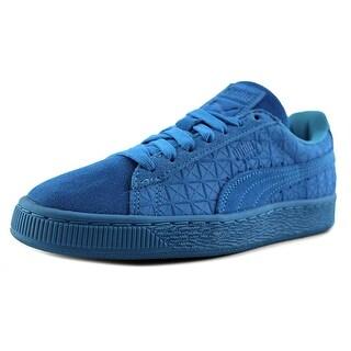 Puma Suedeon Suede   Round Toe Suede  Sneakers