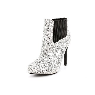 Famous Name Brand Kruella Women Pointed Toe Synthetic Ankle Boot