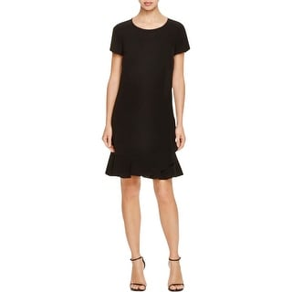 Diane Von Furstenberg Womens Deon Casual Dress Short Sleeves Sheath