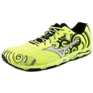 Mizuno Wave Hitogami 2 Men Round Toe Synthetic Yellow Running Shoe