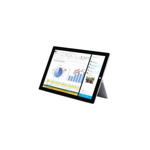"Microsoft MQ2-00001 128GB Intel Core i5-4300U X2 1.9GHz 12.3"" Touch,Silver(Scratch and Dent)"