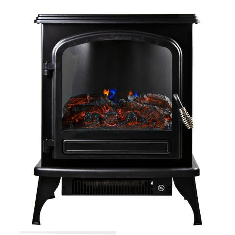 5120 BTU Electric Fireplace Heater Furnace with LED Simulated Flame