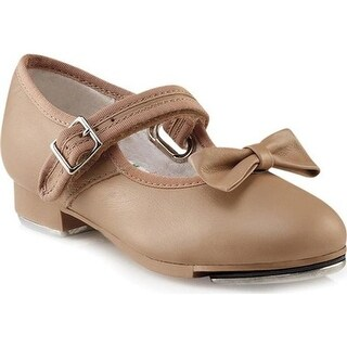 Capezio Dance Girls' Mary Jane 3800C Caramel