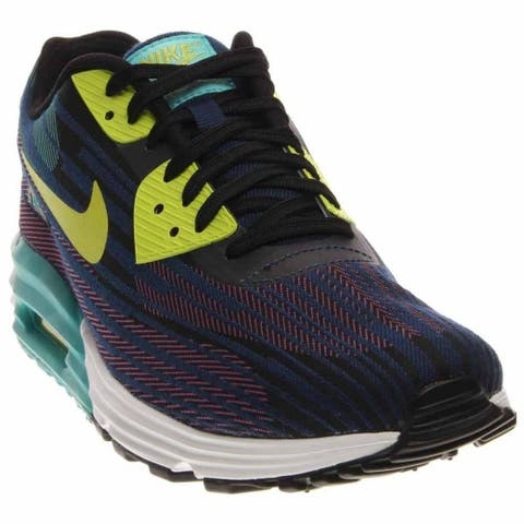 wholesale dealer 98a2b ad913 Nike Mens Air Max Lunar90 Jacquard Running Athletic