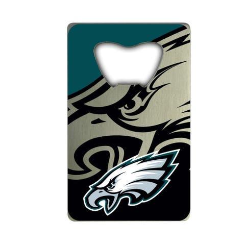 NFL - Philadelphia Eagles Metal Credit Card Bottle Opener - 2in. X 3.25in.