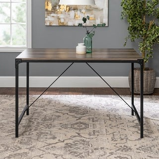 Link to Carbon Loft Edelman 48-inch Angle Iron Dining Table Similar Items in Dining Room & Bar Furniture