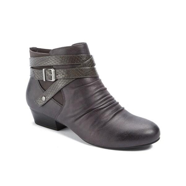 Wear.Ever. Terran Women's Boots DK Grey - 6