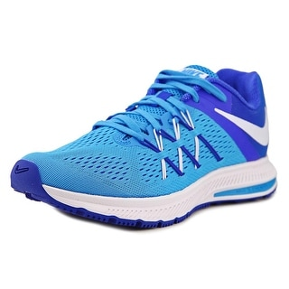 Nike Zoom Winflo 3 Women Round Toe Synthetic Blue Running Shoe