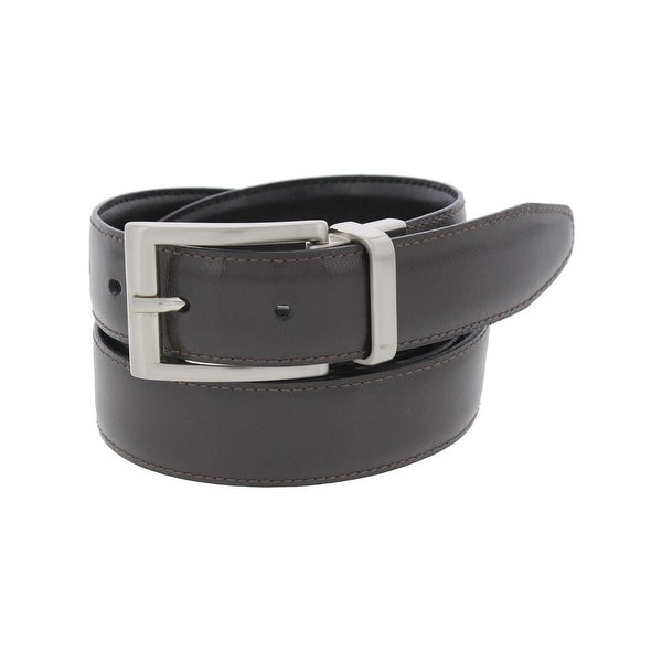 Perry Ellis Mens Dress Belt Leather Dress - 40