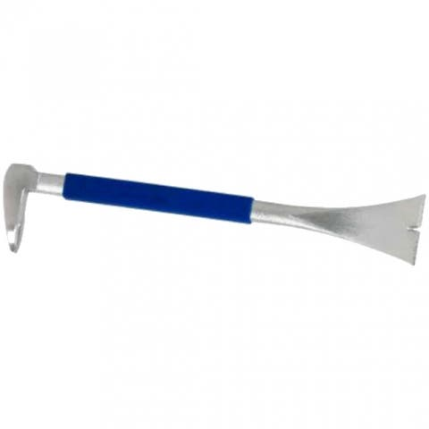 """Estwing MP250G Pro Claw Moulding Puller with Blue Cushion Grip, 10"""""""