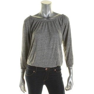Soft Joie Womens Blouse Off Shoulder Long Sleeve