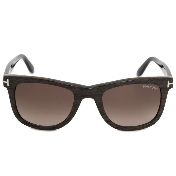 39391cab8a3 Shop Tom Ford Leo Square Sunglasses FT0336 05K 52 - Free Shipping ...