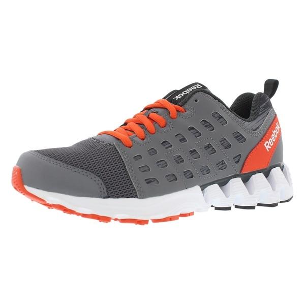 Shop Reebok Zigkick Doom Running Boy s Shoes - On Sale - Free ... 3027cb41e