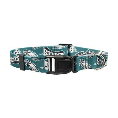 Philadelphia Eagles Pet Collar Size L