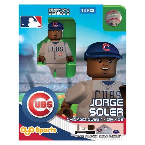 Chicago Cubs MLB OYO Sports Mini Figure: Jorge Soler - multi