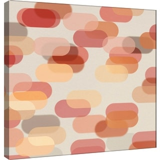 """PTM Images 9-101084  PTM Canvas Collection 12"""" x 12"""" - """"Transitions Q"""" Giclee Abstract Art Print on Canvas"""