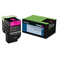 Lexmark 70C1HM0b Lexmark 70C1HM0 Magenta High Yield Return Program Toner