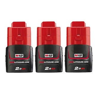 Replacement 2000mAh Battery for Milwaukee 2276-21NST / 2429-20 / 49-24-0145 Power Tools (3 Pk)|https://ak1.ostkcdn.com/images/products/is/images/direct/e6ff94760c305cc96e12a51f48753b4a7f34020c/Replacement-Battery-for-Milwaukee-48-11-2401-%283-Pack%29-Replacement-Battery.jpg?impolicy=medium
