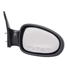 Pilot Automotive TYC 5700331 Black Passenger/ Driver Side Power Non-Heated Replacement Mirror for Nissan Altima