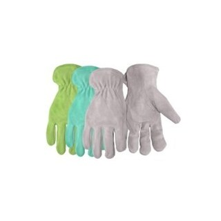 Boss 737 Ladies Split Leather Suede Gloves, Assorted Colors